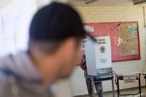 Elei›es 2014 - Dia de vota‹o no Gama, Distrito Federal.