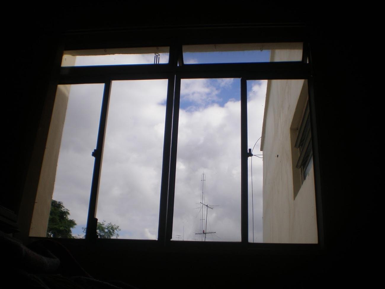 Céu da janela da sala - dezembro de 2014